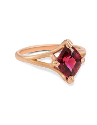 gifts that give back garnet ring january birthstone